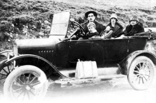Први аутомобил у Краљеву