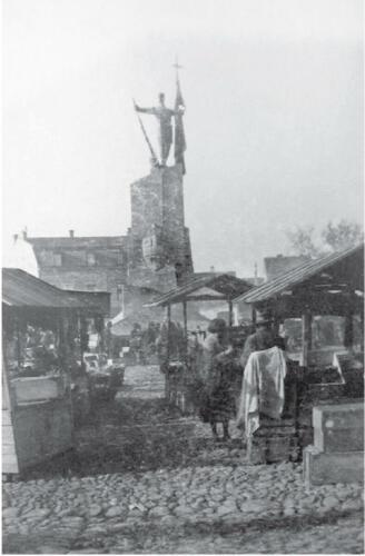 Трг Краљева 1930. године