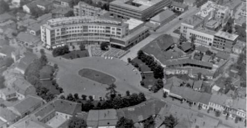 Трг Краљева 1960. године